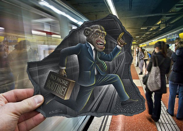 Карандаш против камеры в работах художника Бена Хейне