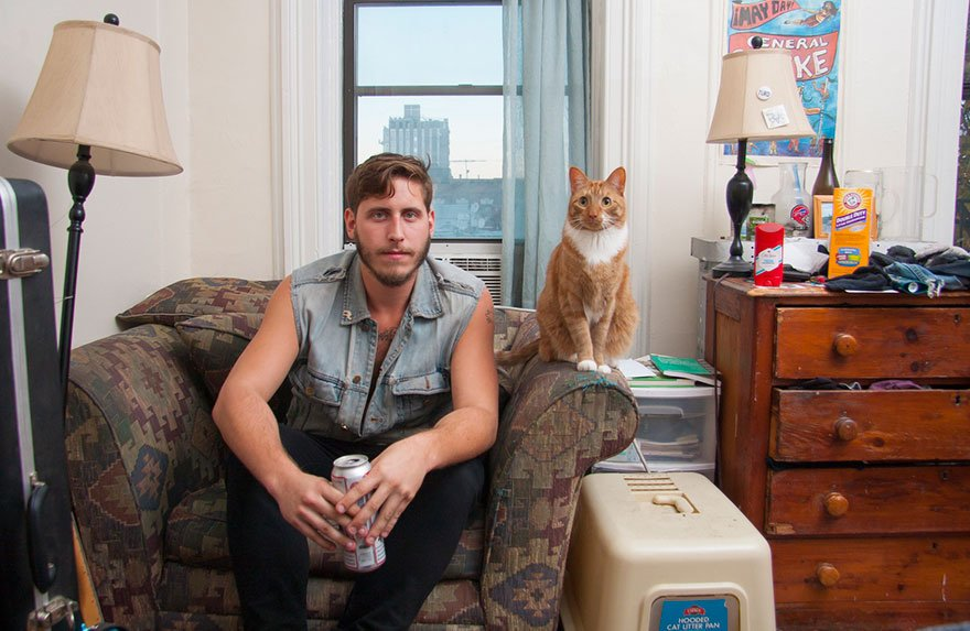Мужчины и кошки: о сильных и независимых