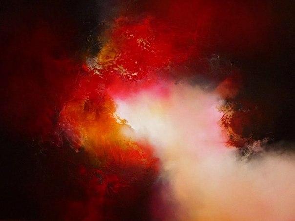 Абстрактные картины художника Саймона Кенни