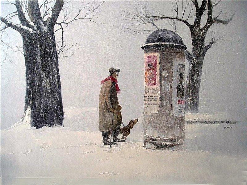 Добрые картины от Андрея Репникова