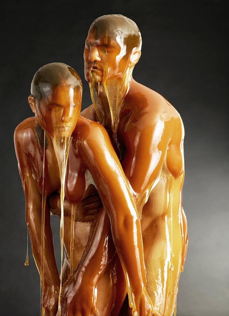 Застывшие образы в мёде