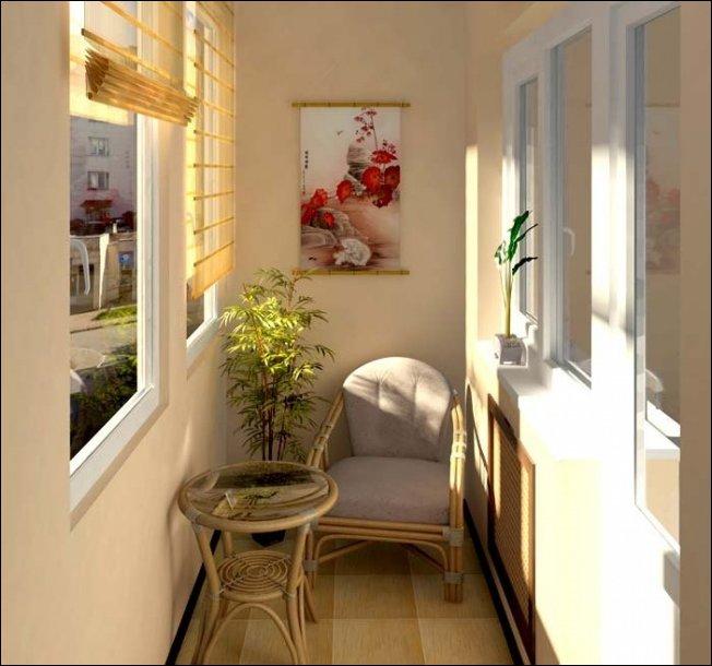 Дизайнерские решения для балконов и лоджий