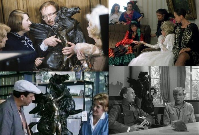 Общие реквизиты в Голливудских фильмах
