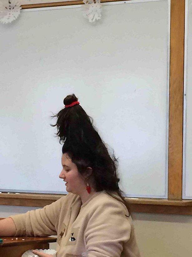 Необычные и прикольные причёски