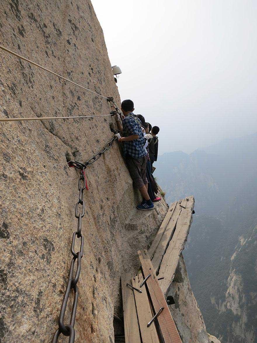 Эти люди не боятся высоты