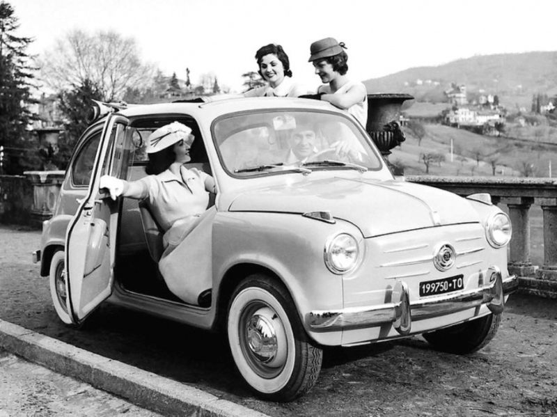 Итальянский прототип горбатого Запорожца