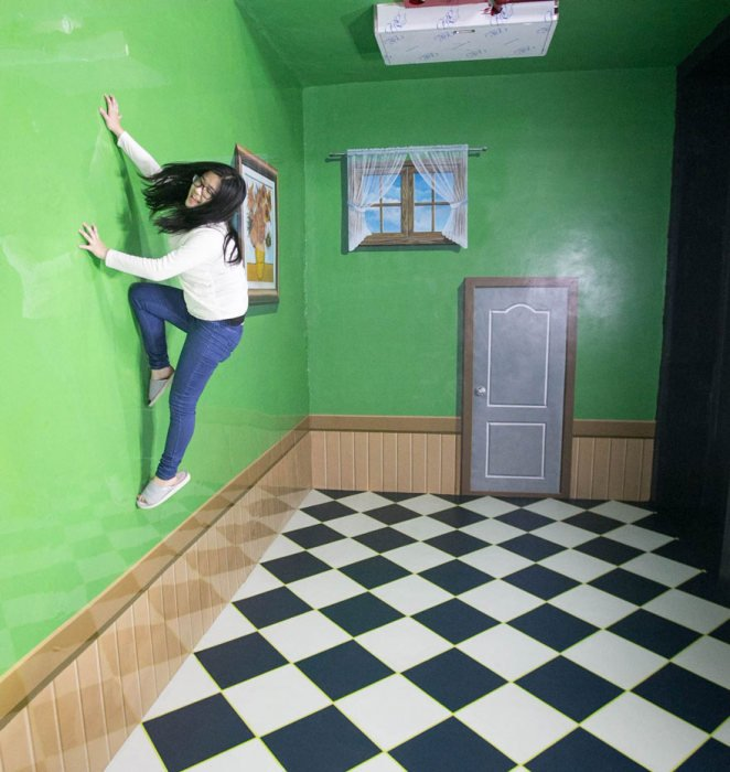 Удивительные фото из музея 3D-искусства
