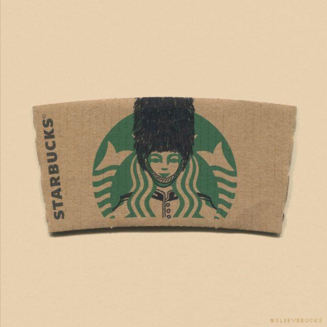Рисунки на кофейных стаканчиках