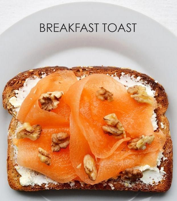 Как приготовить необычные тосты на завтрак