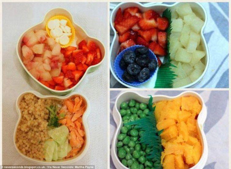 Школьные обеды из разных стран мира