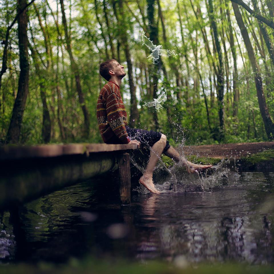 Волшебные фотографии Винсента Бурийона