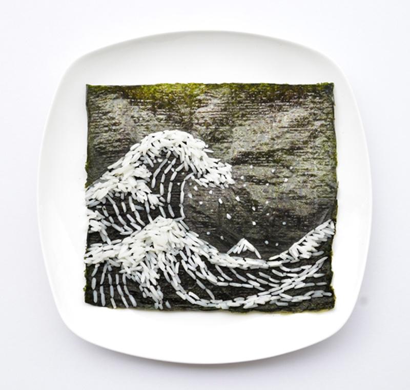 Фуд-арт малазийской художницы Хонг Йи