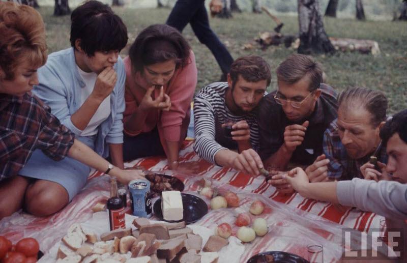 Советская молодежь на фотографиях 1967 года