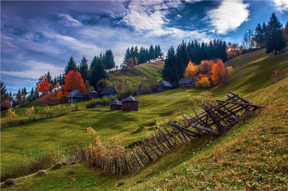 Трансильвания на фотографиях Алекса Робчука