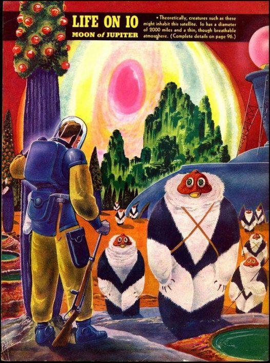 Жизнь на других планетах Солнечной системы из 40-х годов