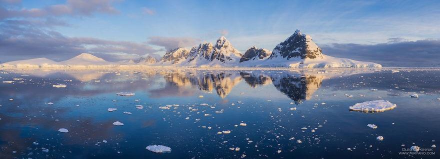 Красоты Антарктиды
