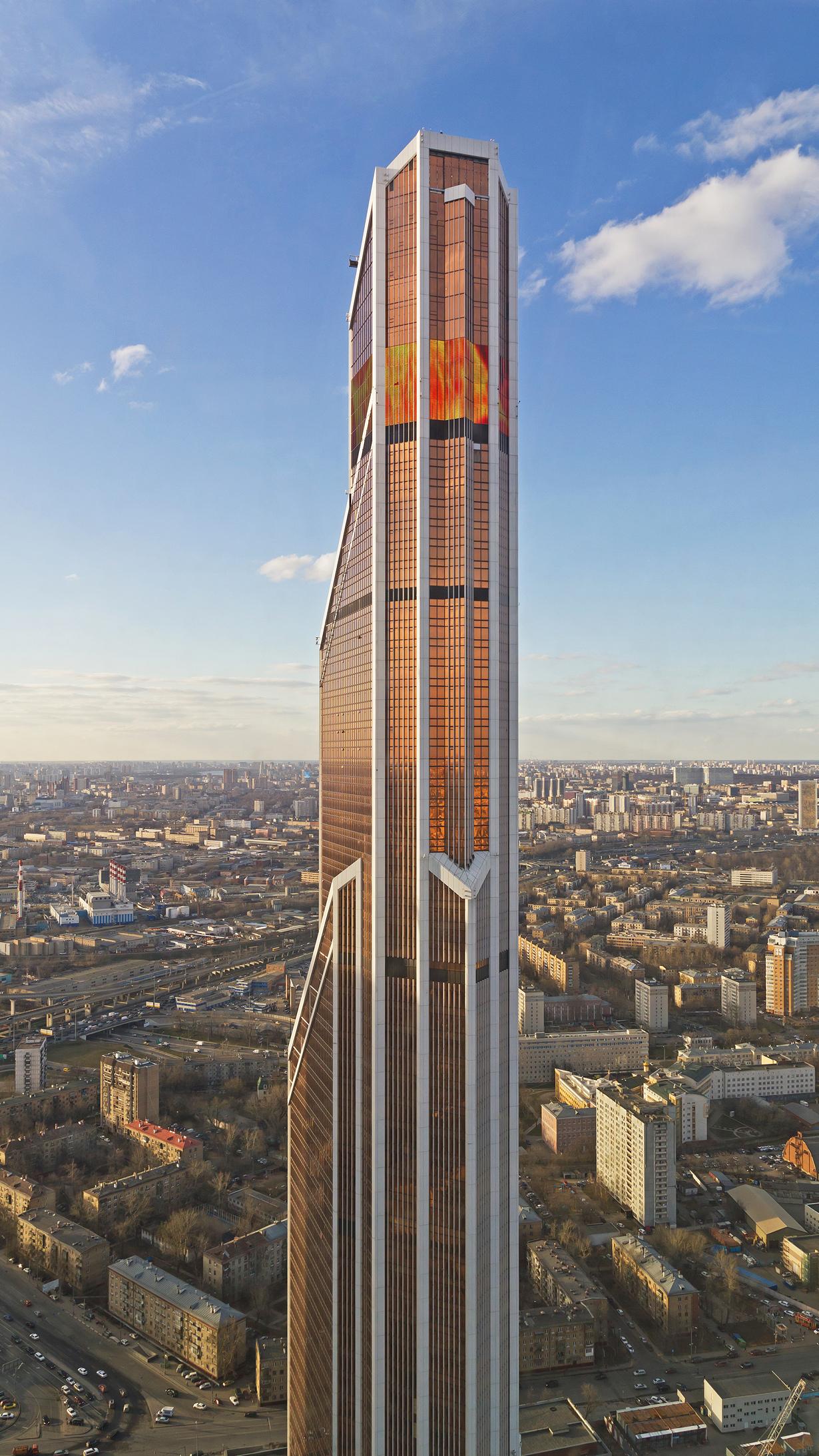 10 самых высоких зданий Европы