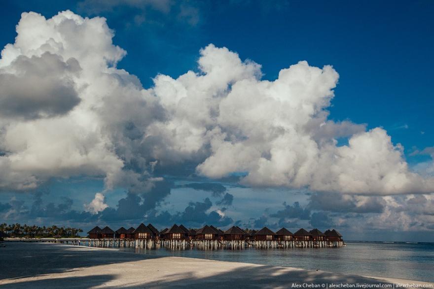 Красоты Мальдивских островов