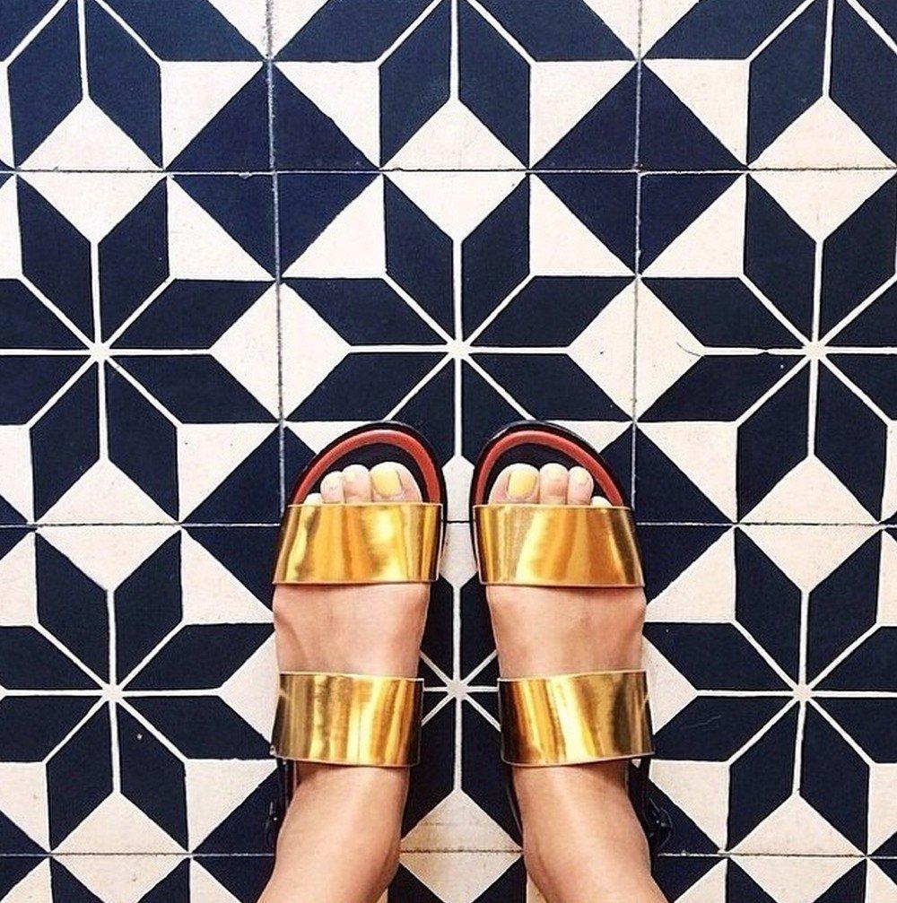 Необычные напольные покрытия из Instagram