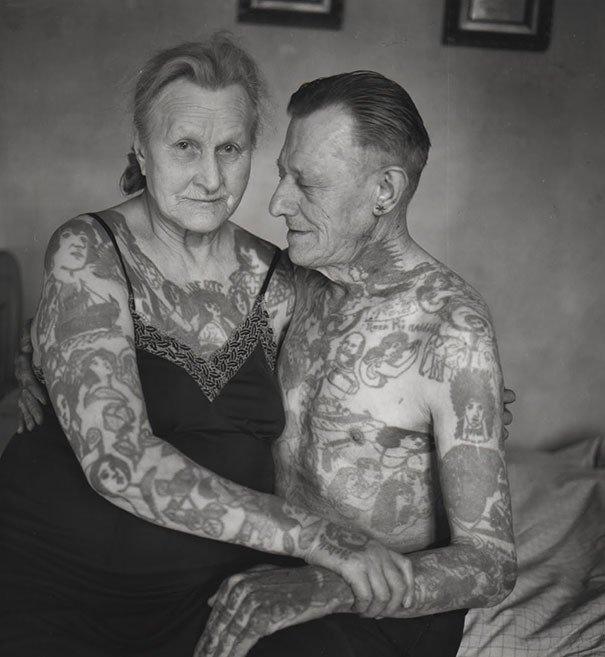 Татуированные дедушки и бабушки