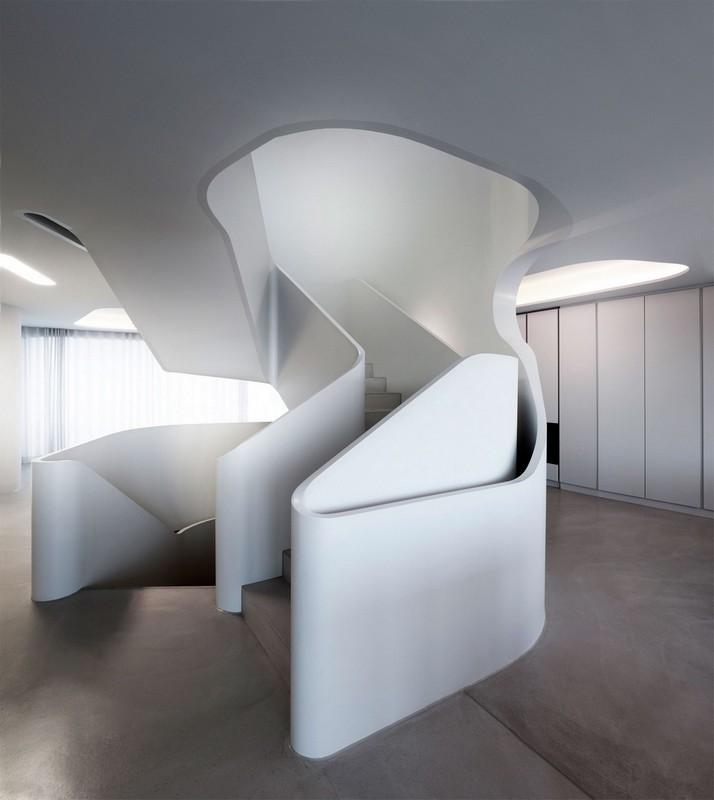 Футуристичный частный дом в Германии