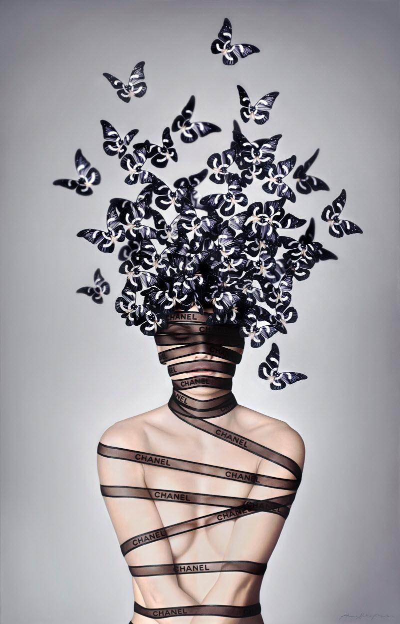 Гиперреалистичные картины маслом от Анны Холдин-Моле