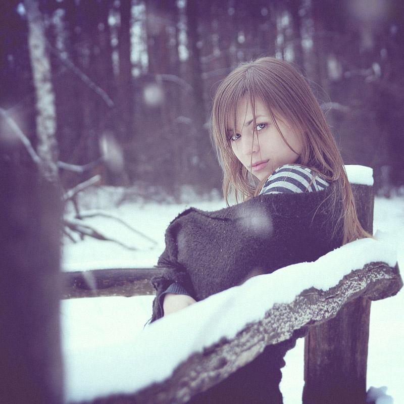 Красивые девушки в фотографиях Александра Савушкина