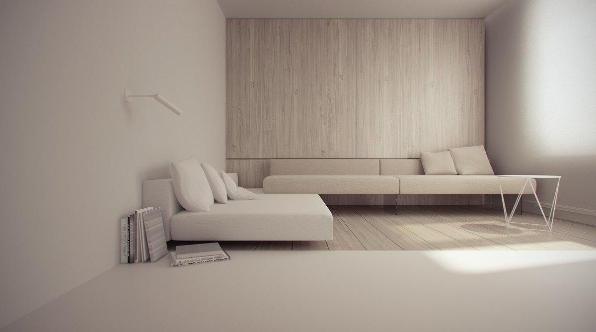 Современные минималистичные интерьеры