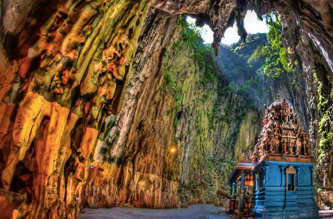 Невероятные древние храмовые комплексы