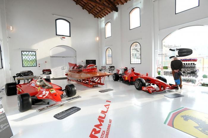 В музее Ferrari
