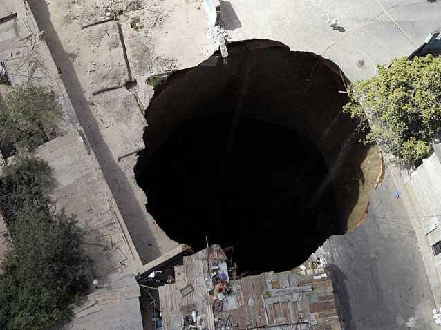 Одни из самых глубоких воронок и провалов, обнаруженных на Земле