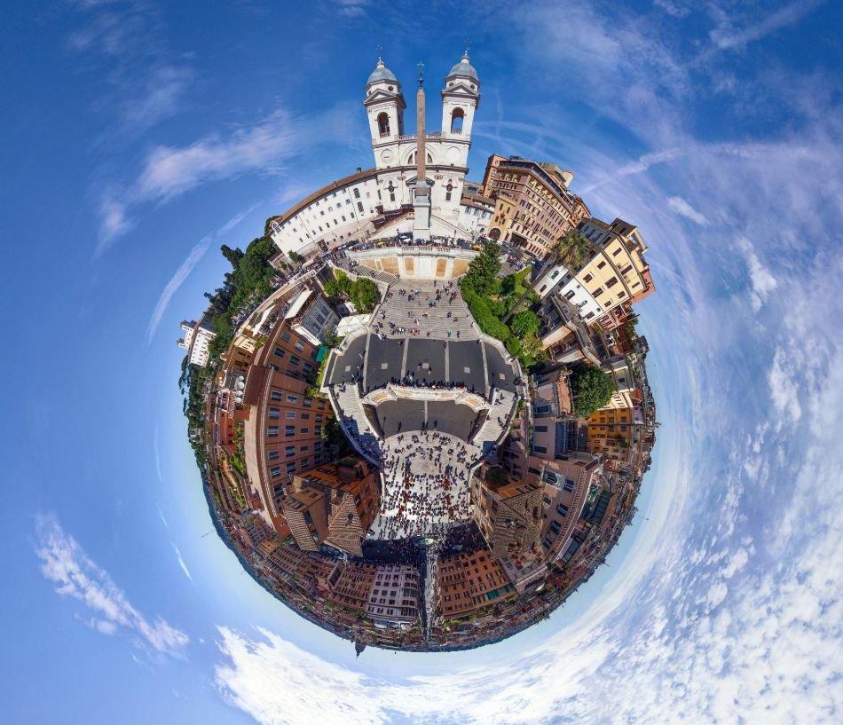 Города мира, как маленькие планеты