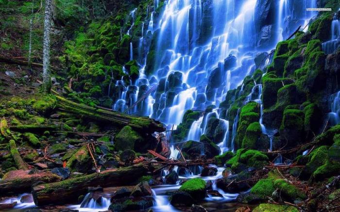 Красота водопада Рамона