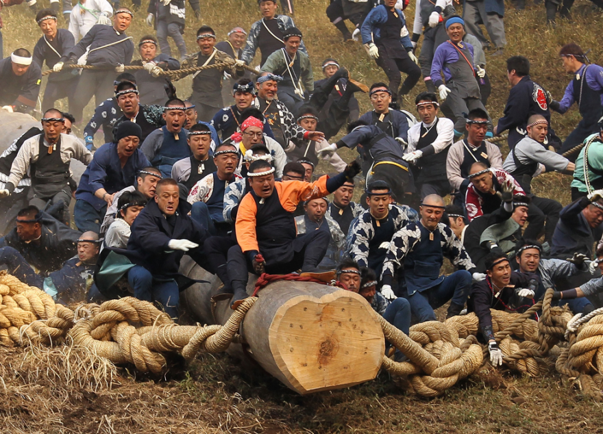 Соревнования для настоящих мужчин в разных странах мира