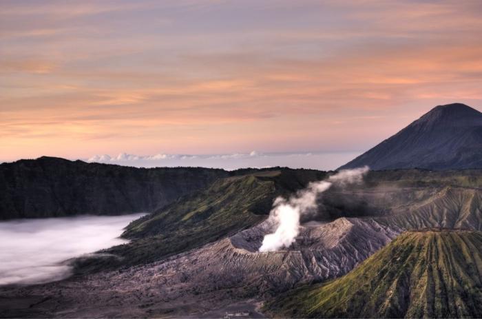 Живописные пейзажи Индонезии