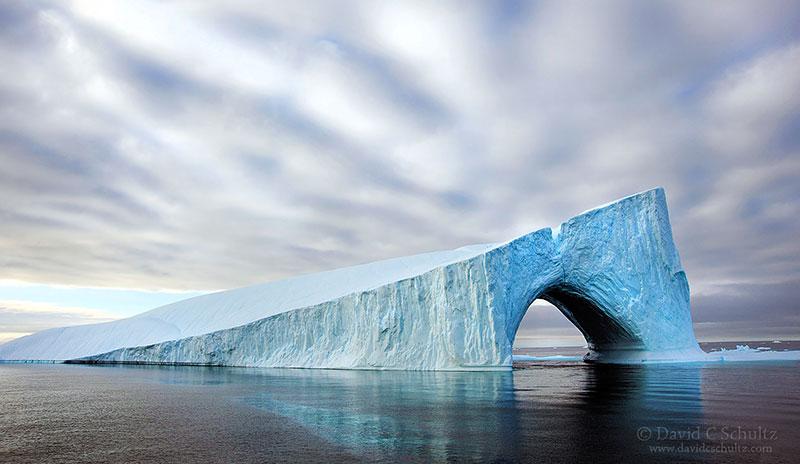 Красота айсбергов из разных мест нашей планеты