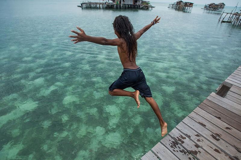 Жизнь морских цыган на Борнео