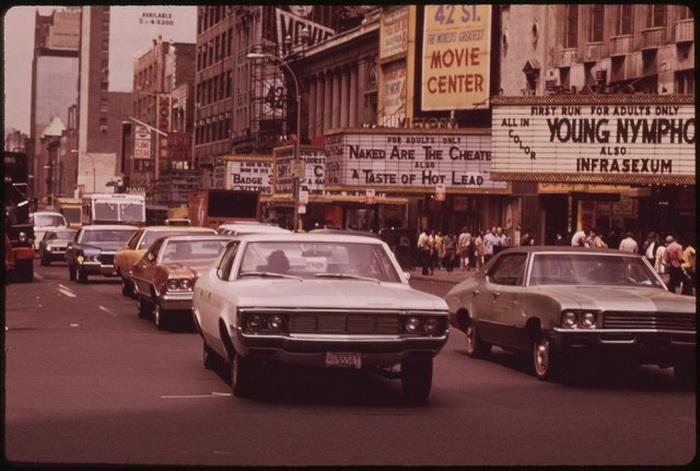 Как менялась площадь Таймс-сквер с начала прошлого века