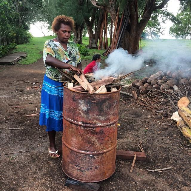 Контрастные пейзажи Вануату