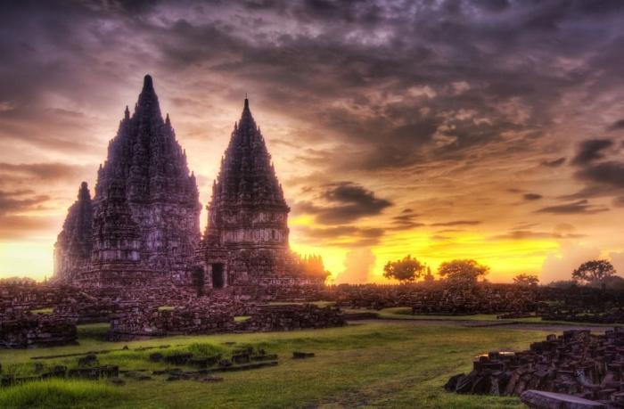 Красочные HDR фотографии пейзажей и архитектуры