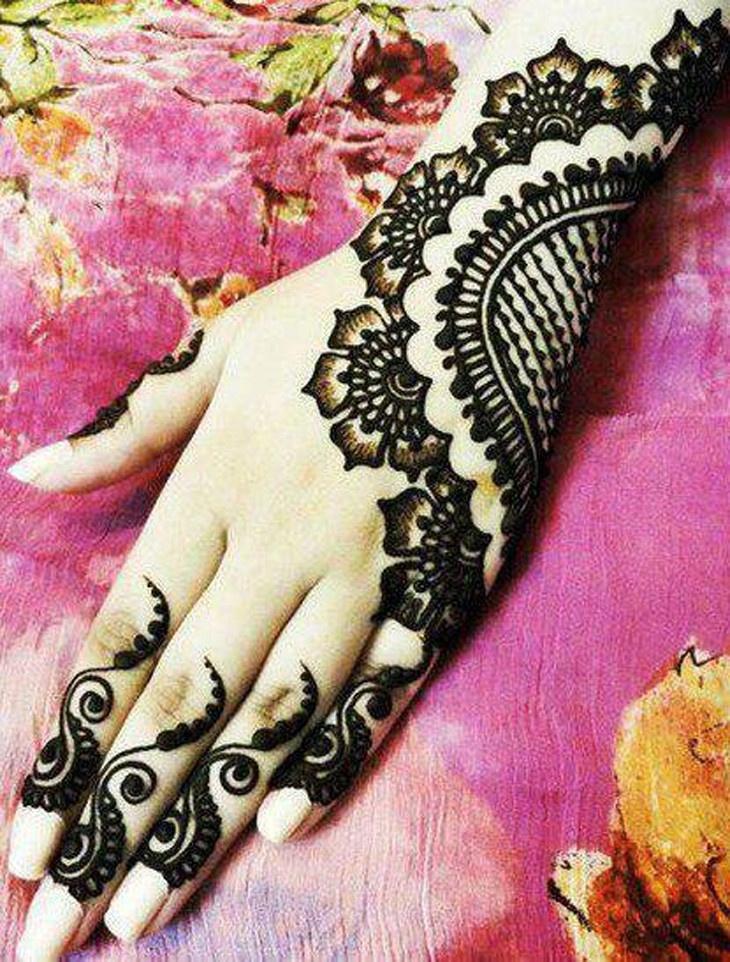 Мехенди - искусство росписи хной