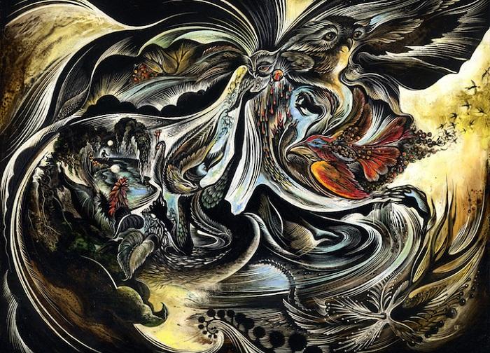Свет и тьма в творчестве американской художницы Cathie Bleck