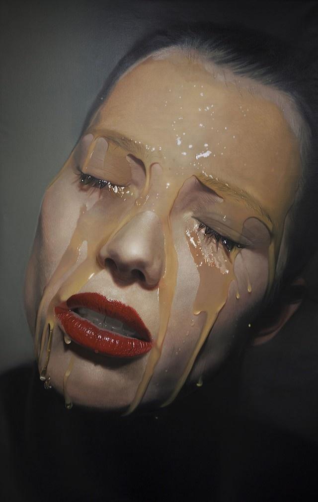 Гиперреалистичные картины маслом Майка Даргаса