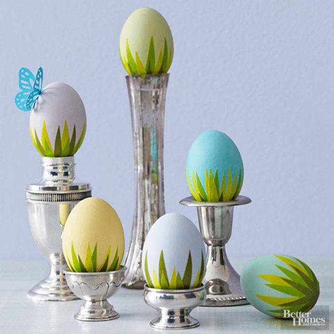 Креативные идеи как раскрасить пасхальные яйца