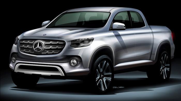 Пикапы Mercedes-Benz