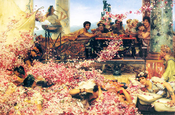 Парфюмерия в Древнем Риме