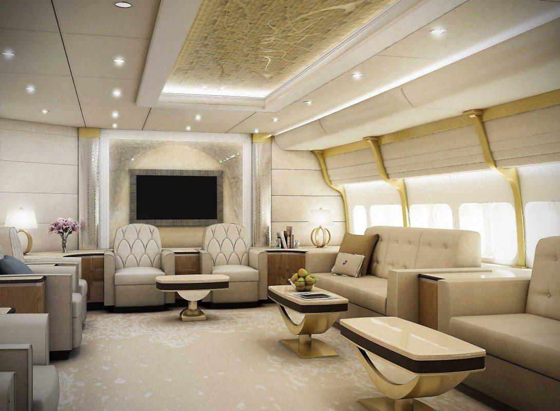 Частный самолёт Boeing 747-8 VIP