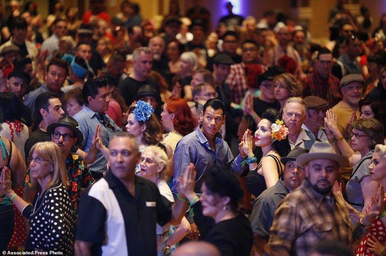 Музыкальный рокабилли-фестиваль в Лас-Вегасе