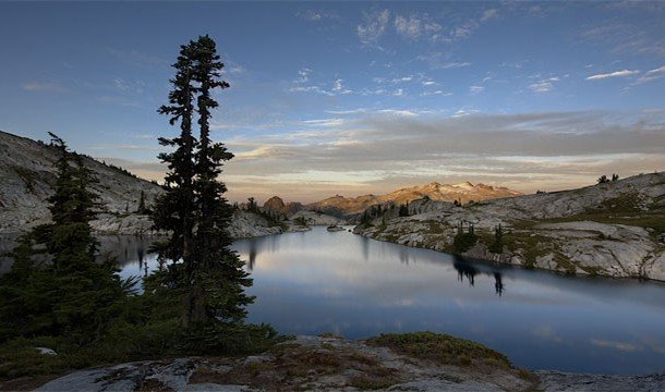 Высокогорные альпийские озера