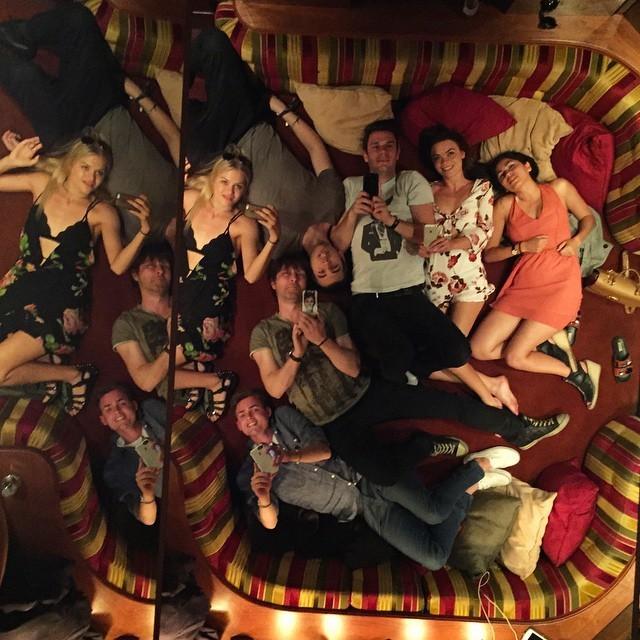 Тематическая вечеринка в честь 89-го дня рождения Хью Хефнера